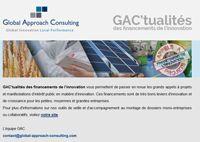 Adhérer à GAC'tualités des financements de l'innovation - GAC GROUP