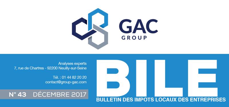 Bulletin des Impôts Locaux des Entreprises - GAC GROUP