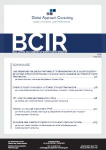 Le Bulletin du Crédit d'Impôt Recherche (BCIR) n°18 - GAC GROUP