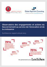 Rapport de l'Observatoire des engagements et actions du Gouvernement en faveur de l'innovation - GAC GROUP
