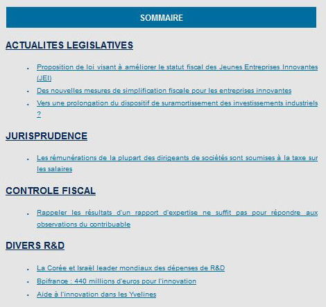 GAC'tualités fiscales – mars 2016 - GAC GROUP