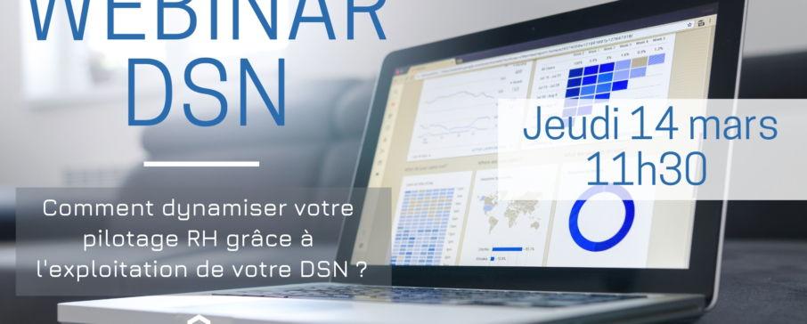 Webinar DSN dynamiser le pilotage RH