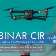Webinar CIR point essentiels déclaration