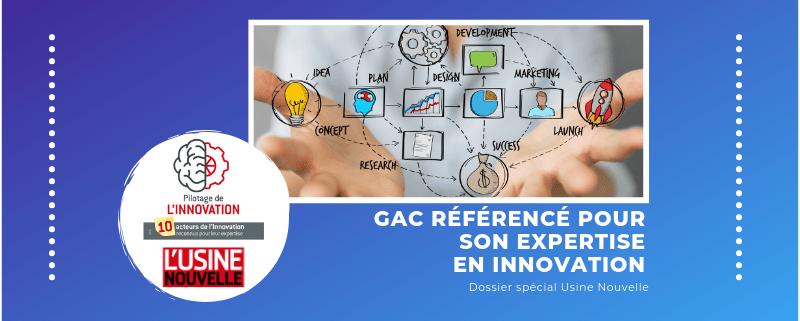 GAC référencé pour son expertise en innovation !
